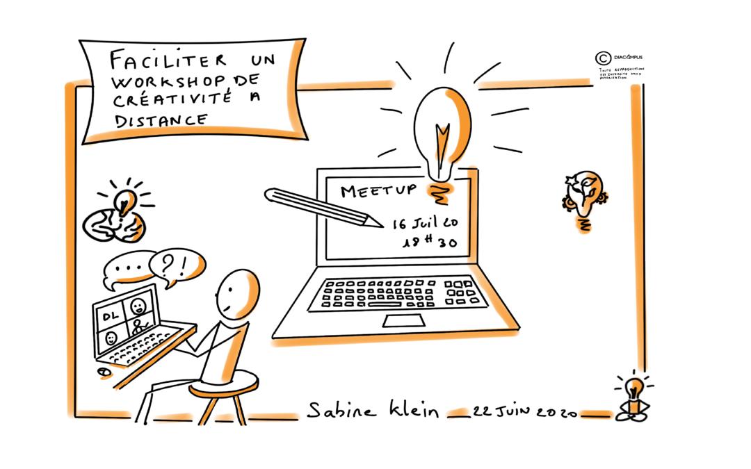 MeetUp – Faciliter un workshop de créativité à distance